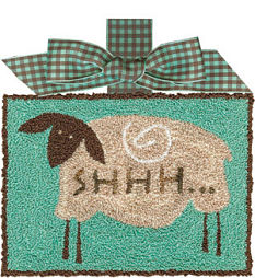 Artful Offerings SHHH Baby Dreaming Punchneedle
