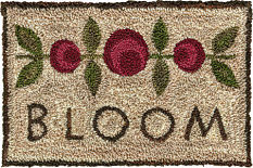 Artful Offerings Blooming Blossoms Punchneedle