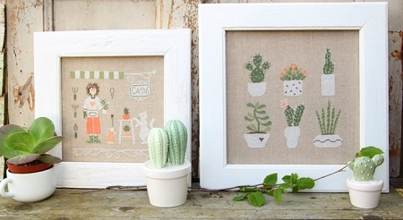 Cactus Mania by Madame Chantilly