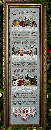 Carol Singers Sampler by The Victoria Sampler