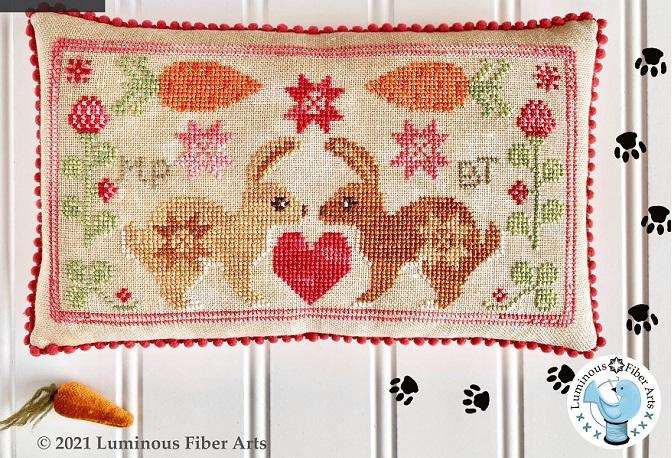 Luminous Fiber Arts Friendship Series BFF Bunnies