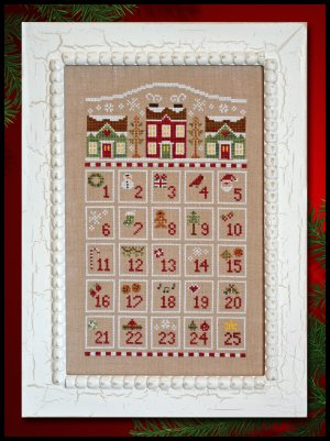 Countdown to Christmas by Country Cottage Needleworks