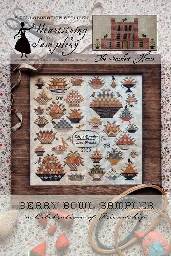 Heartstring Samplery/Scarlet House collab. Berry Bowl Sampler