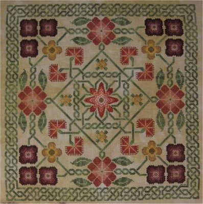 Celtic Garden sampler,NE002,Northern Expressions