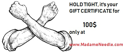 GIFT CERTIFICATE-100$