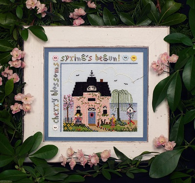 Cherry Blossom cottage by The Victoria Sampler