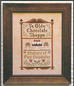 Chocolate shoppe by Little House of Needleworks