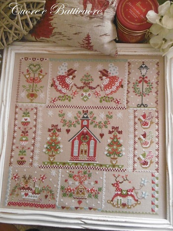 Christmas in quilt by Cuore e Batticuore