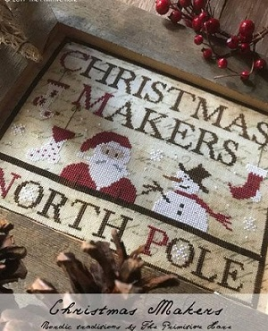 Christmas Makers by The Primitive Hare