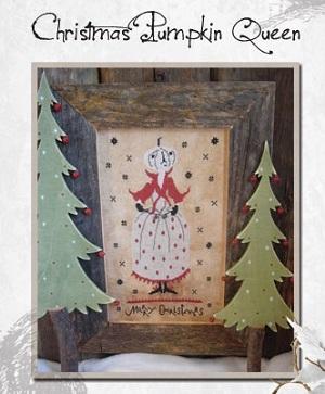 The Primitive Hare Christmas Pumpkin Queen
