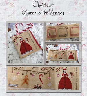 Christmas Queen of the Needles by The Primitive Hare
