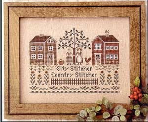 City Stitcher, Country Stitcher by Little House of Needleworks