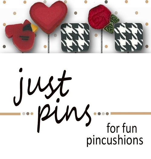 JUBCO Classic red and black pin set