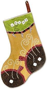 Cocoa stocking by Samsarah Design Studio