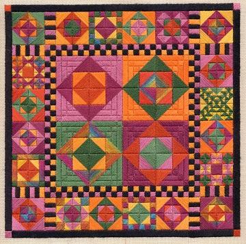 Color study Hide and Seek by Laura J Perin Desings