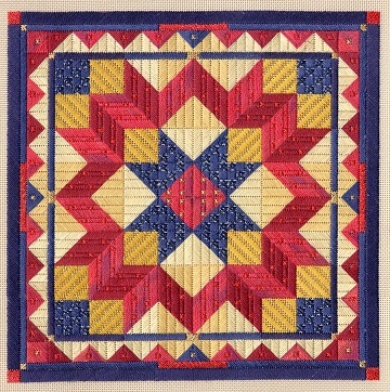 Color study Liberty Star by Laura J Perin Designs
