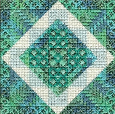 Color Delights-Aqua by Needle Delights Originals