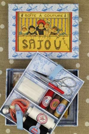 Complete sewing set Small model - Children's Theatre by Sajou