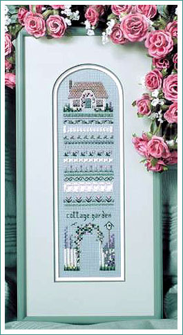 Cottage Garden Sampler by The Victoria Sampler
