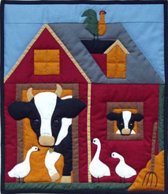 Cows quilting kit by Rachael's of Greenfield