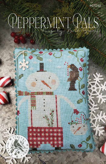 With Thy Needle and Thread (Brenda Gervais) Peppermint Pals
