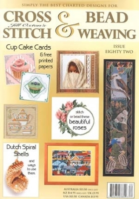 Jill Oxton Cross Stitch & Beading Issue 82