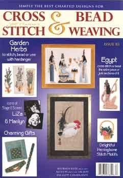 Jill Oxton Cross Stitch & Beading Issue 83