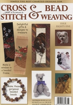 Jill Oxton Cross Stitch & Beading Issue 85