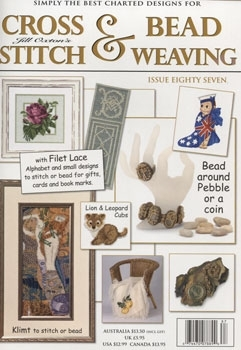 Jill Oxton Cross Stitch & Bead Weaving Issue 87