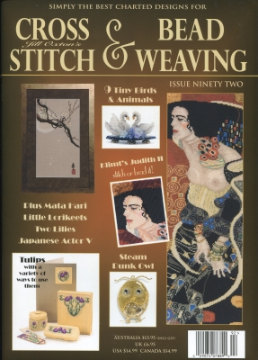 Jill Oxton Cross Stitch & Bead Weaving Issue 92