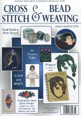 Jill Oxton Cross Stitch & Bead Weaving Issue 95