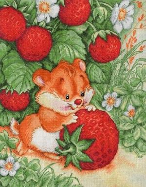 Strawberry Happiness by Lan-Svit