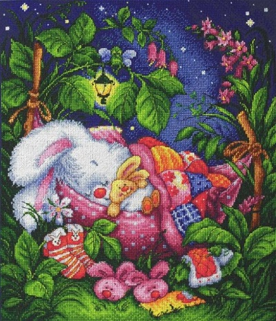 Good night, my Honey Bunney by Lan-Svit