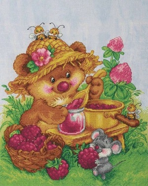 Raspberry happiness by Lan-Svit