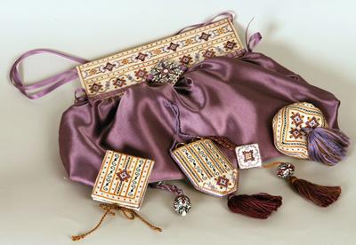 Giulia Punti Antici D8 Sewing Purse & Set – Deruta