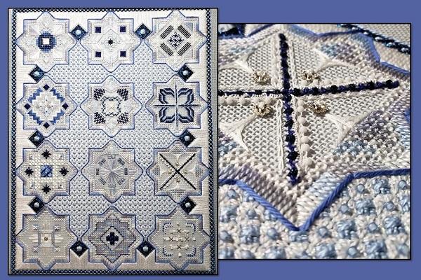 Textures Treasures From Dawn to Dusk Fiber- Talk Blues
