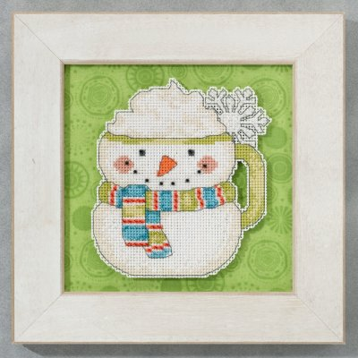 Debbie Mumm/Mill Hill Frosty mug,DM205103