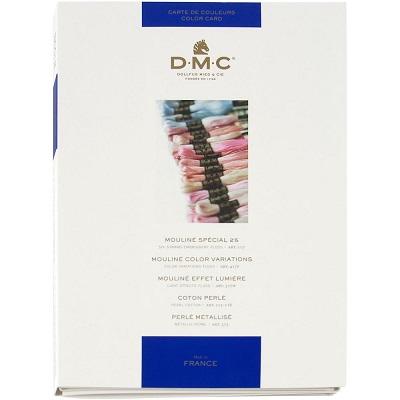 DMC shade thread card
