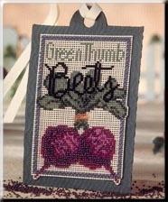 Green Thumb Beets,DMST3,by Debbie Mumm