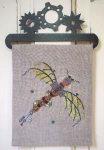 Steampunk Dragonfly by Samsarah Design Studio