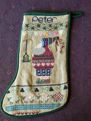Peter's Stocking by Shepherd's Bush