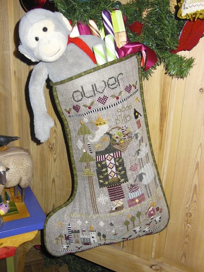 Oliver's Stocking by Shepherd's Bush