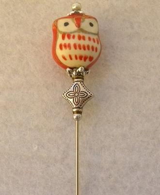 PIN CERAMIC LITTLE OWL SP701G