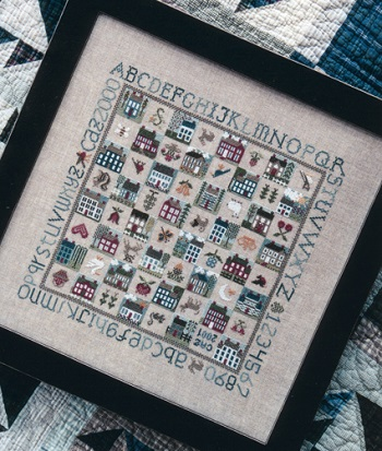 Sampler gameboard by The Drawn Thread