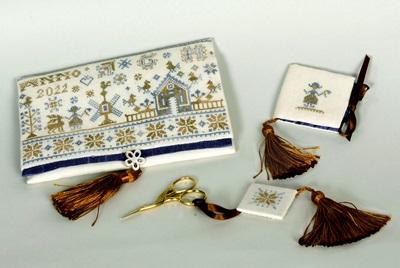 Giulia Punti Antici A Dutch Christmas Sewing Set