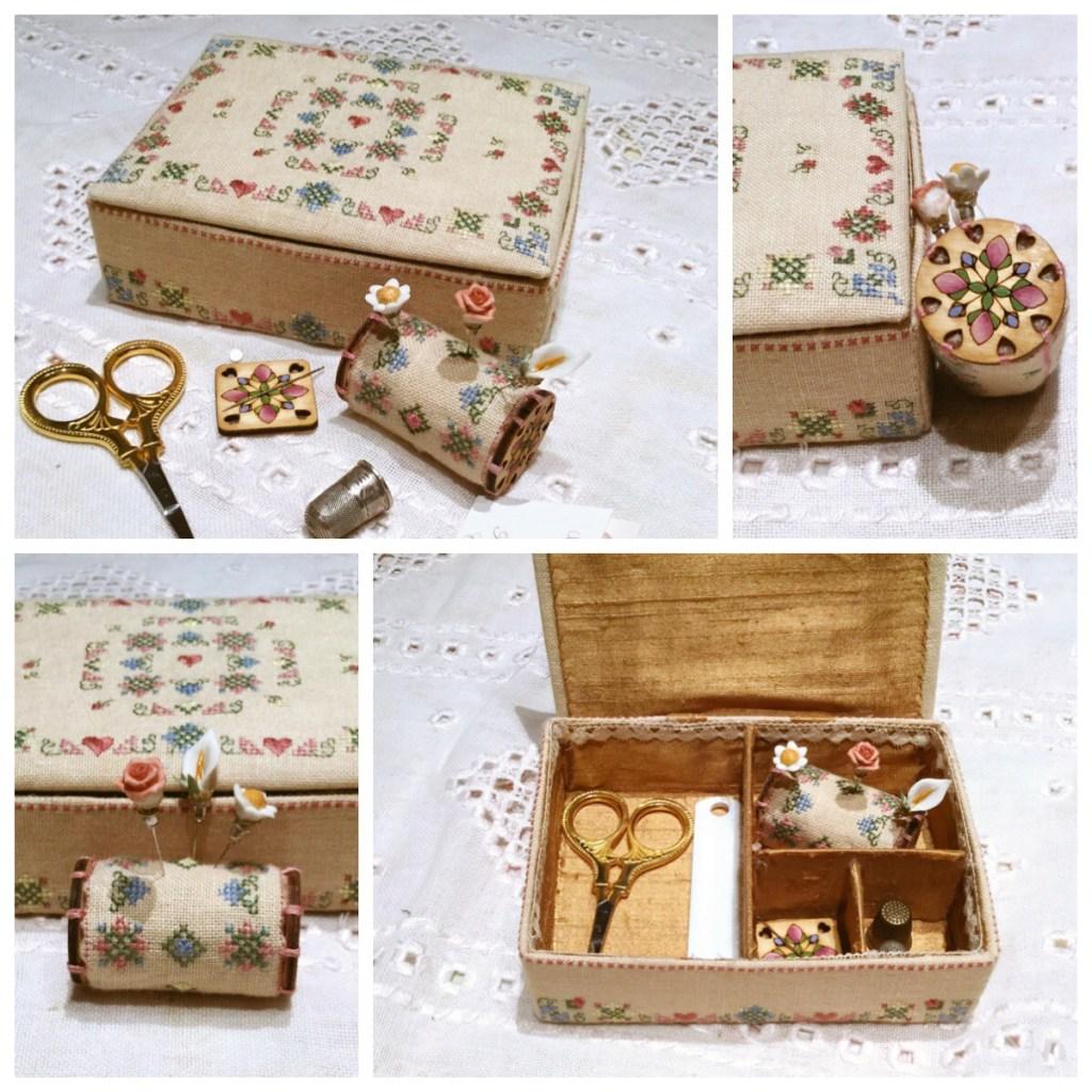 MTV Designs Elegance in bloom sewing box