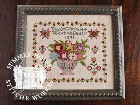 Summer House Stitche Workes Eliza Garside 1841