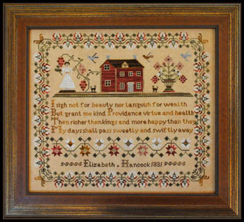 Elizabeth Hancock 1831 by Little House of Needleworks
