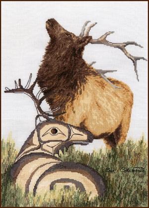 Stitching Studio Elk