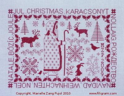 Filigram Christmas,A35